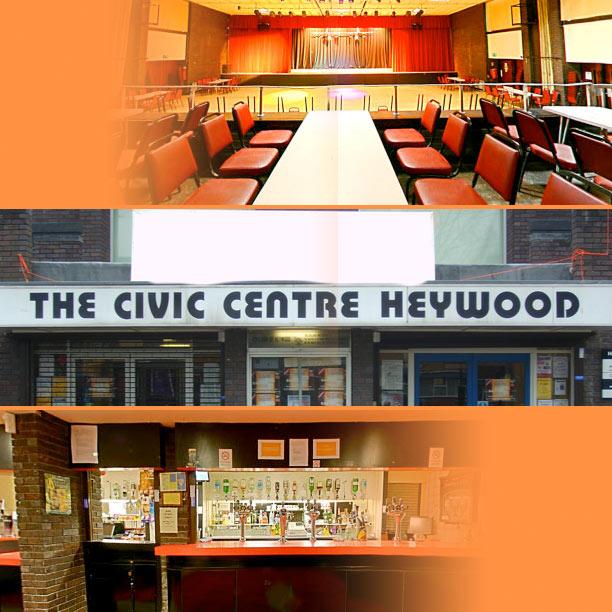 Heywood civic hall events